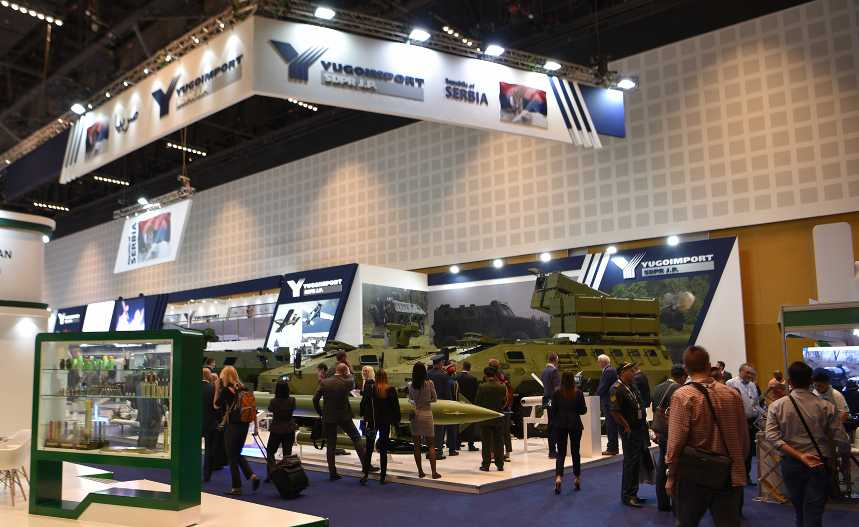 Prva iska – namenska a.d. as the exhibitor at IDEX 2019
